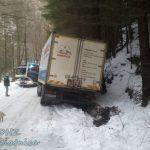 Zásah 2/2013– zapadnuté nákladné vozidlo