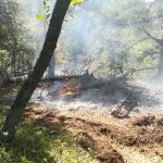 Zásah 9-10/2019 – lesný požiar pod Ostrou – 2.deň