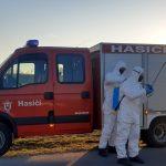 Preventívne opatrenia proti Covid-19 – Dezinfekčný postrek obce